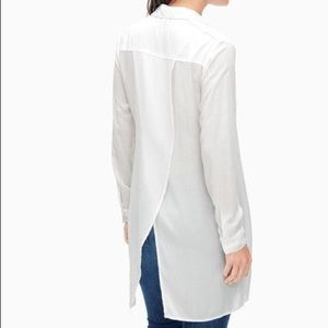 Splendid Split Back Tunic Top